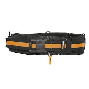 Padded Belt with Heavy Duty Buckle, Black