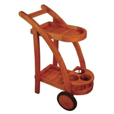Terrace Mates Inverness 2-Shelf Patio Serving Cart