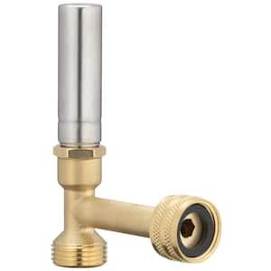 3/4 in. FHT x 3/4 in. MHT Stainless Steel Water Hammer Arrestor