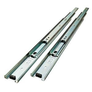 22 in. Full Extension Side Mount Ball Bearing Drawer Slide Set 1-Pair (2 Pieces)