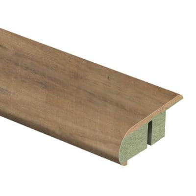 Harvest Cherry 3/4 in. Thick x 2-1/8 in. Wide x 94 in. Length Laminate Stair Nose Molding