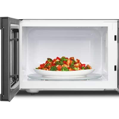 2.2 cu. ft. Countertop Microwave in Fingerprint Resistant Stainless Steel with 1,200-Watt Cooking Power