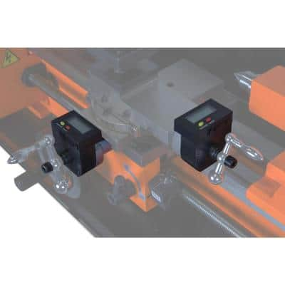 2-Axis Digital Readout Kit for Metal Lathes (compatible with WEN, Central Machinery, and Grizzly)