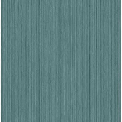 William Teal Plywood Texture Teal Wallpaper Sample