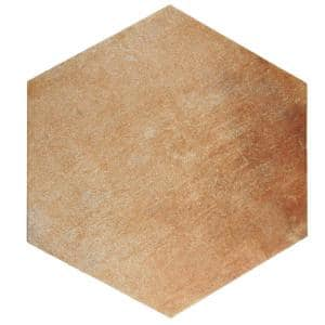 Americana Boston North Hex 14 in. x 16 in. Porcelain Floor and Wall Tile (10.72 sq. ft. / case)