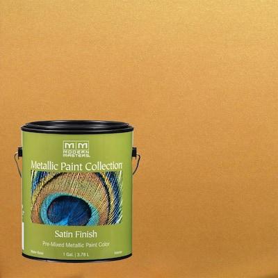 1 gal. Olympic Gold Satin Metallic Interior Paint