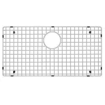 29 in. x 15-1/8 in. Stainless Steel Bottom Grid Fits QA-740 and QAR-740