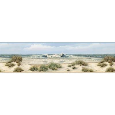 Falmouth Beige Dunes Beige Wallpaper Border