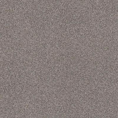 Wholehearted II - Color Hazy Shadow 15 ft. Twist Carpet