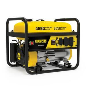 4550/3650-Watt Recoil Start Gasoline RV Ready Portable Generator (CARB)