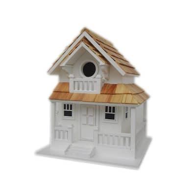 White Backyard Bird Cottage