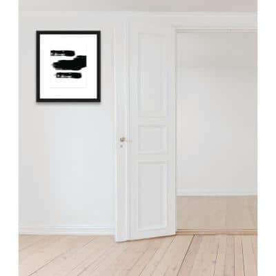 18 in. x 20 in. ''BRUSHES VI'' Framed Printed Wall Art