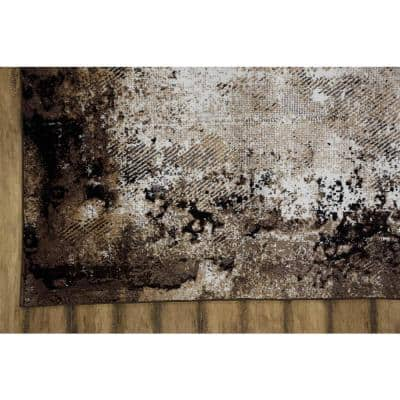 Lakeview Brown 8 ft. x 10 ft. Area Rug