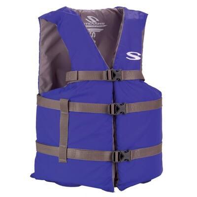 Adult 4XL Blue General Purpose Life Vest