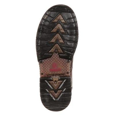 Men's IronClad Waterproof Work Boot - Soft Toe - Brown Size 9.5(M)