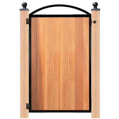 Easy-to-Install Arched Gate 8-Board Pro for 47 in. Openings