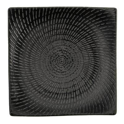 7 in. Urban Porcelain Curved Square Plates (Set of 48)