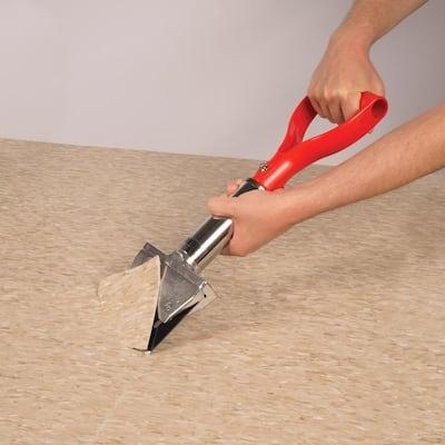 6 in. Wide Heavy Duty Convertible Floor Scraper and Stripper with Adjustable Handle