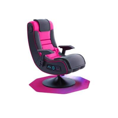 """Colortex® 9Mat® Polycarbonate 9-Sided Pink Gaming E-Sport Chair Mat for Carpets up to 1/2"""" - 38"""" x 39"""""""