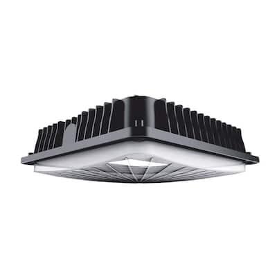 250-Watt Equivalent Integrated LED Bronze Water Resistant IP65 Canopy Light