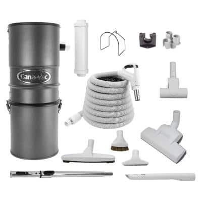 Central Vacuum Package for Hard Floor Surface Cleaning