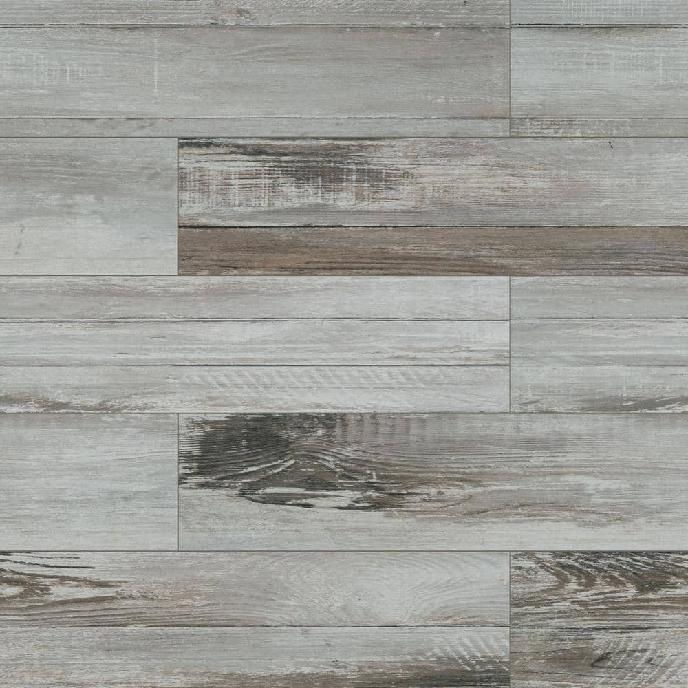 msi duttonwood ash 7 in x 20 in matte ceramic floor and wall tile 0 97 sq ft nhddutash7x20 the home depot