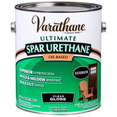 1 Gal. Clear Gloss Oil-Based Exterior Spar Urethane
