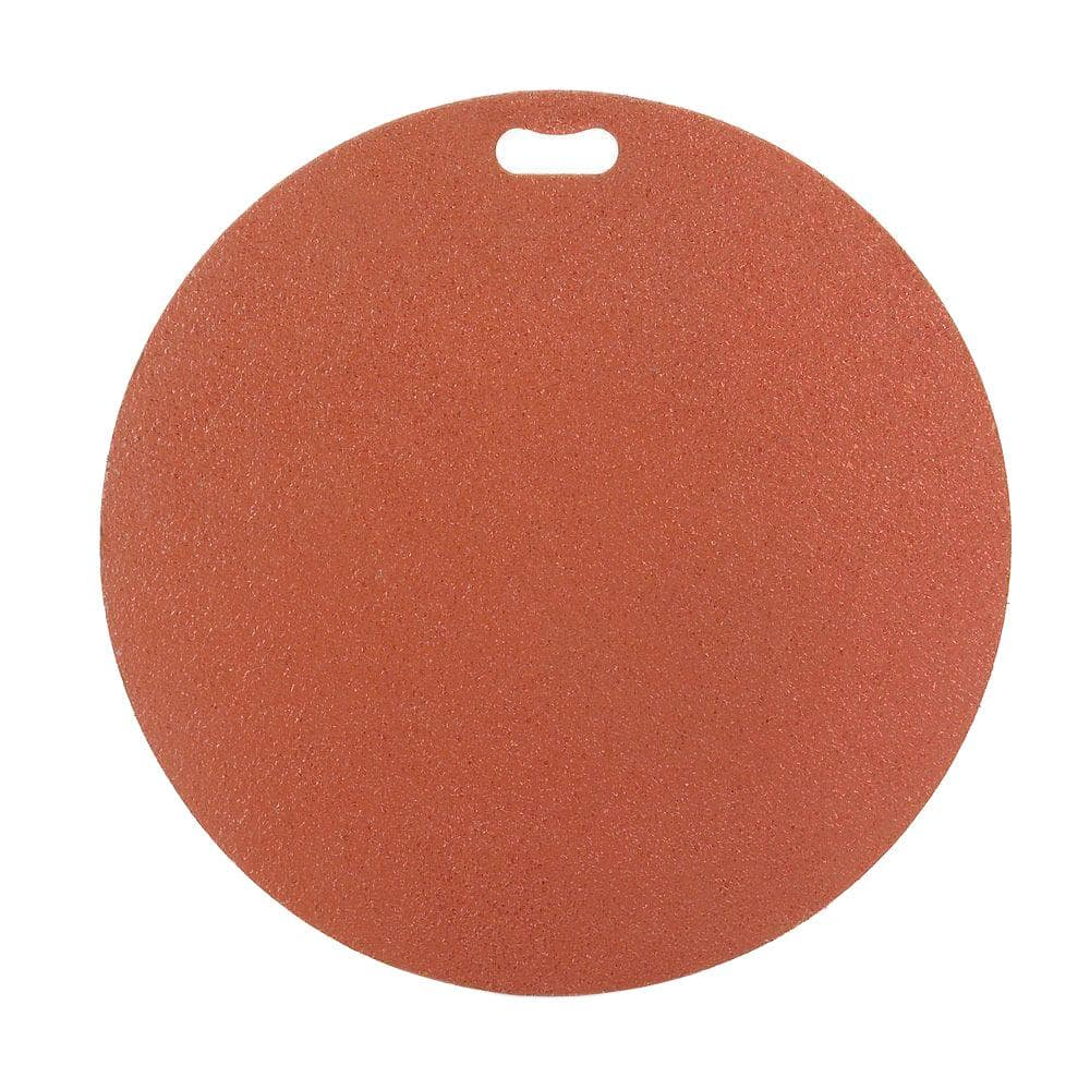 The Original Grill Pad 30 In Round Brick Red Deck Protector Gp 30 C Br The Home Depot