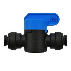 1/4 in. OD Push-to-Connect Valve Fitting (10-Pack)