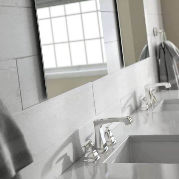 Delta 19 In W X 28 In H S2 Frameless Rectangular Standard Glass Bathroom Vanity Mirror Mirs2 Sfg R The Home Depot