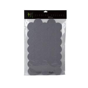 7 oz. Aeroponic Gray Cloning Collars (35-Pack)