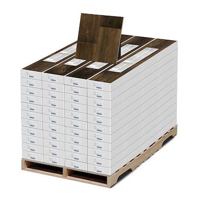 Water Resistant EIR Cappington Oak 12 mm T x 7.5 in. W x 50-2/3 in. L Laminate Flooring (589.44 sq. ft. / pallet)
