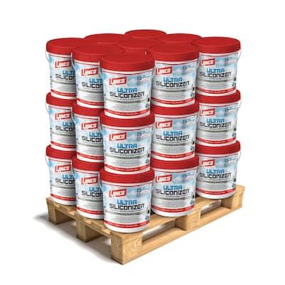 5 Gal. Ultra Siliconizer 100% Acrylic Elastomeric Reflective Roof Coating (Silicone-Modified) (27-Piece)