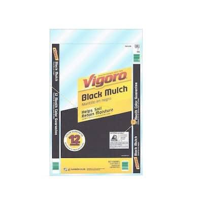 2 cu. ft. Black Colored Mulch