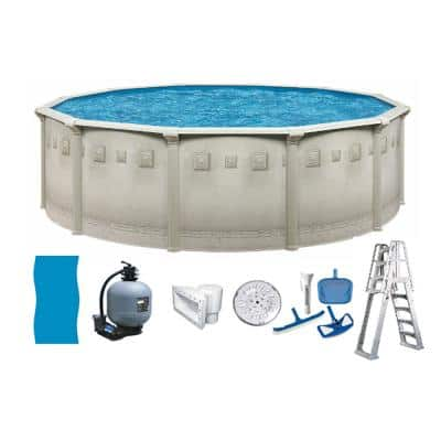 Yes Above Ground Pools Pools The Home Depot