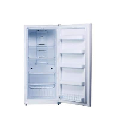 13.8 cu. ft. Frost Free Upright Freezer in White