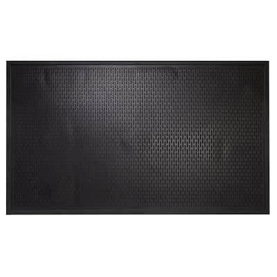 Maze Durable Anti Fatigue 5 ft. x 3 ft. Commercial Rubber Scraper Floor Mat
