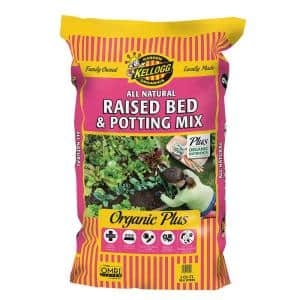 2 cu. ft. All Natural Raised Bed and Potting Mix Premium Outdoor Container Mix