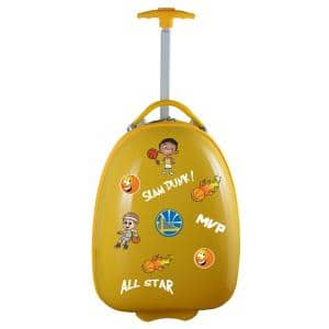 NBA Golden State Warriors Yellow 18 in. Kids Pod Luggage