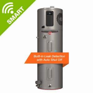 ProTerra 65 Gal. 10-Year Hybrid High Efficiency Smart Tank Electric Water Heater with Leak Detection & Auto Shutoff