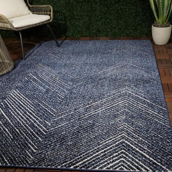 10 Ft Abstract Area Rug 3011168