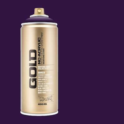 11 oz. GOLD Spray Paint, Black Purple