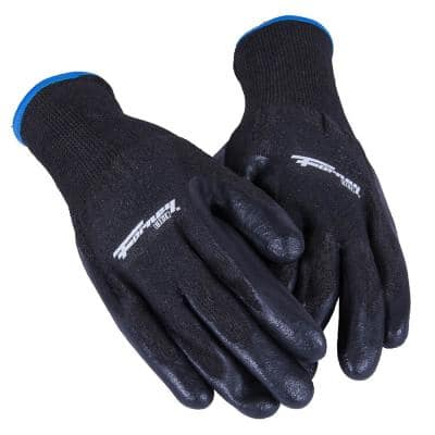 Size XL PU Coated Cut 5 Resistant Gloves