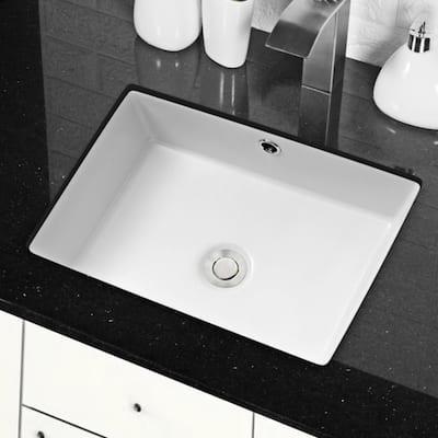 12 25 Undermount Bathroom Sinks Bathroom Sinks The Home Depot
