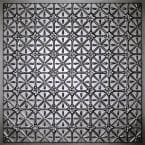 Continental Black 2 ft. x 2 ft. Lay-in or Glue-up Ceiling Panel (Case of 6)