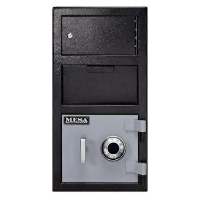 1.5 cu. ft. Combination Lock Depository Safe with Outer Locker