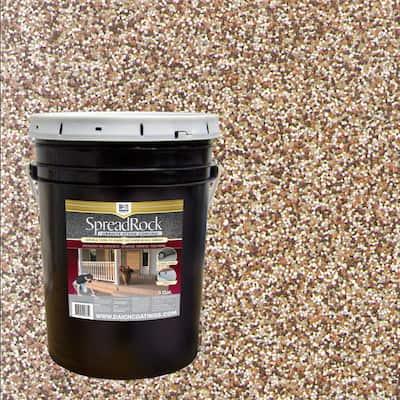 Granite Stone Coating 5 Gal. Brownstone Satin Interior/Exterior Concrete Resurfacer and Sealer