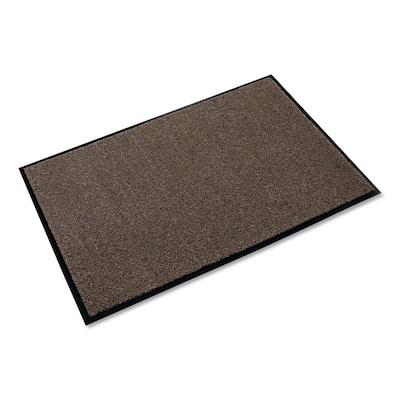 Rely-On Walnut 36 in. x 60 in. Olefin Indoor Wiper Commercial Floor Mat