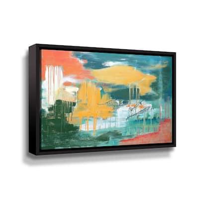 Unveiling the sky' by Carolyn O'Neill Framed Canvas Wall Art