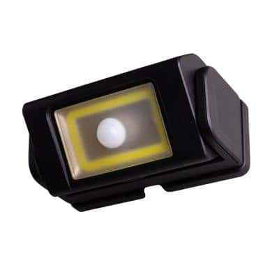 Integrated LED Black Motion-Sensing Compact Standard Light